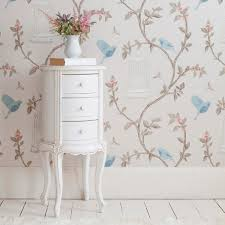 White French Bedroom Furniture Provencal Round White Bedside Table Bedrooms Tables And French Bed