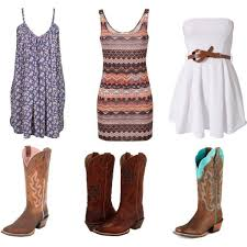 15 best cowgirl boots and dress images on pinterest dresses