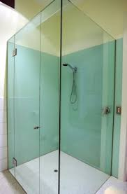 tempered glass shower door how to install large tempered glass sheets around bathtub