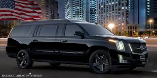 cadillac escalade 2016 becker automotive design luxury transport coaches sprinter