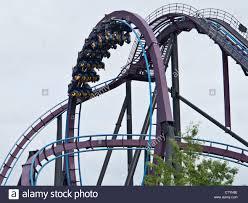Six Flags Ma Roller Coaster At Six Flags New England Near Agawam Massachusetts