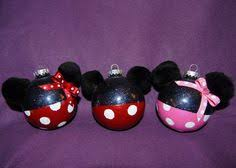 diy minnie mickey ornaments ourfirstchristmas goodjob