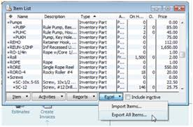 Quickbooks Chart Of Accounts Excel Template Importing Quickbooks Inventory With Excel Practical Quickbooks