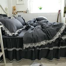 Ruffle Bed Set Black Ruffle Duvet Covers U2013 De Arrest Me