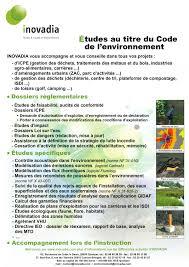 bureau d etude environnement inovadia bureau d études environnement rennes quimper