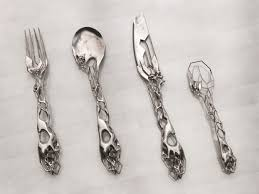 cool flatware unusable but very cool cutlery by isaïe bloch bottle sketch