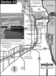 Chicago Il Map by Chicago Il Sanitary And Ship Canal Chicago River Map Chicago Il