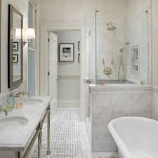 Master Bathroom Tile Designs Anyon Interior Design Gorgeous Master Bathroom With Marble
