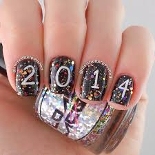 Nail Art Designs For New Years Eve 108 Best New Year Nails Images On Pinterest New Year U0027s Nails