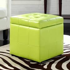 ottoman ottoman cube with tray leather cube ottoman with tray