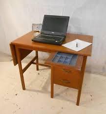 Office Desk Vintage Retro Teak Desk Vintage Computer Desk Office Desk 60s Home Office