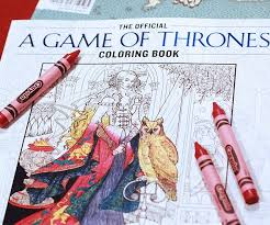 of thrones coloring book