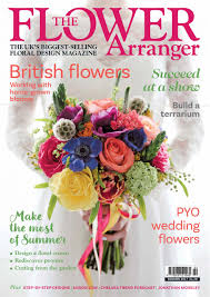 wedding flowers magazine the flower arranger magazine subscriptions usa magazinecafestore