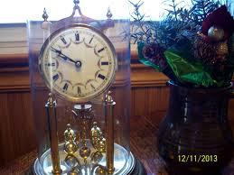 Forestville Mantel Clock Vintage German 400 Day Anniversary Clock Original Glass U0026 Parts