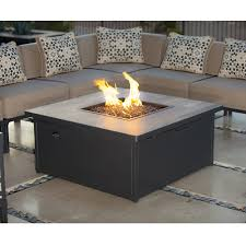 Firepit Table Ow Creighton 42 Inch Square Occassional Height Pit Table