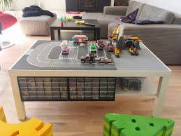 lack lego playtable with undertable storage ikea hackers ikea