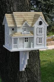 garden bazaar hb 2041 kingsgate cottage bird house white