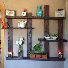 Wall Decors Pallet Shelf For Wall Decor