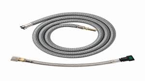 grohe 46 174 000 hose for k4 and ladylux cafe faucets 59 inch