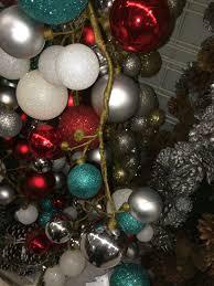 diy ornament garland u0026 my pink porch decor u2022 nourish and nestle