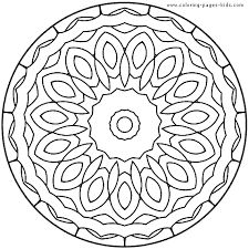 free mandalas print color downloadkids coloring pages