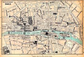 Versailles France Map by Map Of Revolutionary Paris 1789