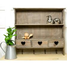 Reclaimed Wood Shelves by Reclaimed Wood Heart Wall Shelf By The Orchard