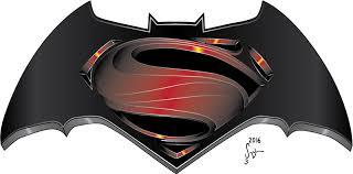 batman vs superman movie logo i e sequential journal