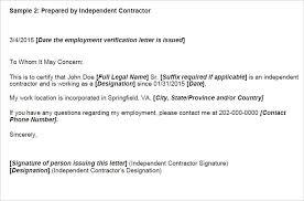 sample employment verification letter letter idea 2018