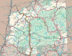 Easton Map Map Of The White Mountain National Forest Nh The Student