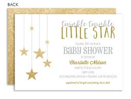 twinkle twinkle baby shower invitations gender neutral baby shower invitations invitation box