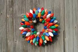 vintage christmas lights similar to vintage christmas light bulb ornament wreath on etsy
