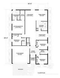 1500 Sq Ft House Floor Plans Ranch Style House Plan 4 Beds 2 00 Baths 1500 Sq Ft 36 372 House