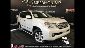 lexus used gx 460 used white 2013 lexus gx 460 premium package walkaround review
