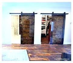 How To Build A Sliding Closet Door Closet Barn Doors Sliding Closet Barn Door Sliding Closet Doors