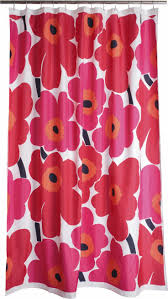 best 25 red shower curtains ideas on pinterest red and black marimekko unikko red shower curtain in bed and bath crate and barrel