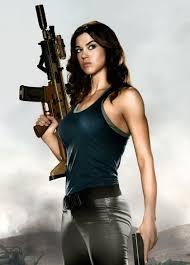 brunettes women guns movies adrianne palicki posters raw lady jaye