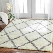 Pottery Barn Shag Rug by Inspired By Moroccan Berber Carpets This Trellis Shag Rug Adds
