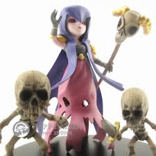 clash of clan action figure 8 witch skeletons anime doll coc