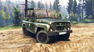uaz jeep 469 v2 0 for spin tires