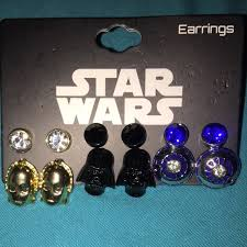 wars earrings 52 disney jewelry disney wars earrings brand new from