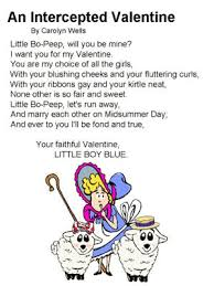 poem intercepted valentine carolyn wells