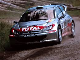 peugeot 206 rally peugeot 206 wrc u00271999 u20132003 full hd wallpaper and background