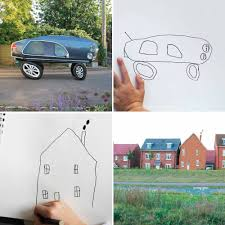 cars drawings a child u0027s drawings turned into realistic imaginings of animals