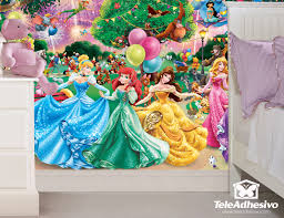 princesses wall murals princesses