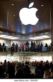 Apple Store Paris Apple Store Sign Stock Photos U0026 Apple Store Sign Stock Images Alamy