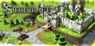 siege jeux siegecraft un jeu de guerre médiéval de siège sous android frandroid