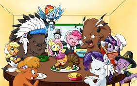 thanksgiving friendship image 206481 my little pony friendship is magic know your meme