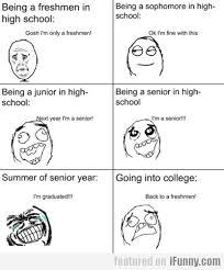 High School Freshman Memes - being a freshman in high school snorts pinterest freshman