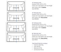 sofa seat depth measurement depth of sofa seat thecreativescientist com
